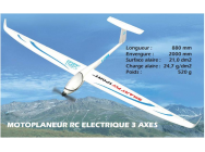 SMART FLY Sport ARF T2M avec flycam One V2 - T2M-4547