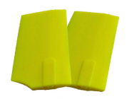 HP 90 Paddles - Neon Yellow 4mm Flybar - SLV-4205 - SLV-4205