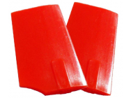 HP 90 Paddles - Neon Orange 4mm Flybar - SLV-4207 - SLV-4207