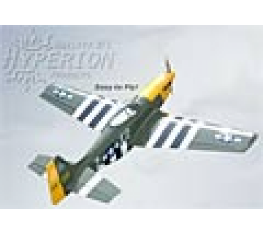 P-51D Mustang (Olive) Hyperion - HYP-P51OLIVE