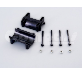 Tail boom mount w, bolts_1 set-bag - SLV-02-1825S - SLV-02-1825S