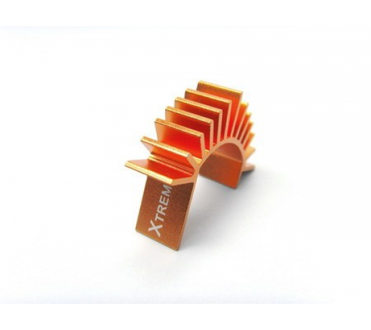 EA-007-O - 180 motor heat sink-orange - XTR-EA-007-O