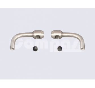 Flybar control arm w, set screw_2pcs-bag - SLV-05-0504 - SLV-05-0504
