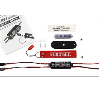 DPSI Micro - DualBat 5.9V / 7.2V (Double Alimentation - Regulateur) - EMC-DPSI-A11052