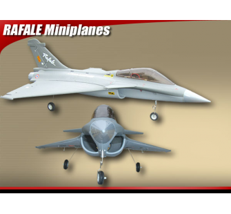 Rafale fighter brushless Gris RTF 2.4 ghz - FMS-FMS002G