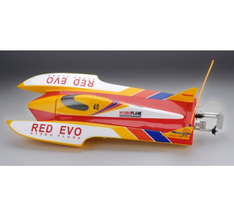Racer Bateau RED EVO 50A (Fibre + brushless) (RC Ready) - JP-5502435