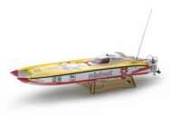 Bateau racer MINI CAT 70A (Fibre + brushless) (RC Ready) - JP-5502425