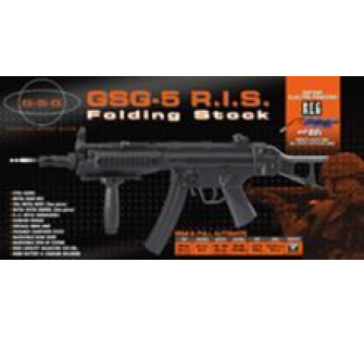 GSG-5 RIS Folding Stock AEG Blow Back system - AIS-130911