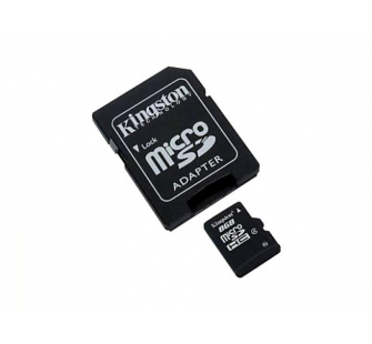 MicroSDHC 8GB Kingston Class4 - Sous Blister - MKT-1604