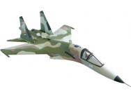 Avion Su-34 kit nu avec train rentrant - OST-78604
