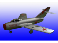 Art-Tech MiG-15 Silver Edition RTF 40Mhz - ART-21223