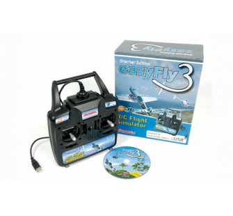 Simulateur de vol EASYFLY 3 SE + GAME COMMANDER - T2M-IK3015010