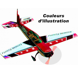 Extra 300 78   (1980mm) Rouge/Blanc VERSION Electrique EXF - OST-78741