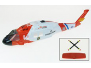 Fuselage pour Twister Hawk version Coast Guard - jp-6601890