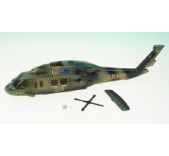 Fuselage pour Twister Hawk version Army - jp-6601880