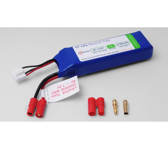 Pack accu LiFe 6.6V 2100mAh HYPERION - OST-81309