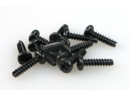 S002 ROUND HEAD SELF TAPPING SCREW 3x12 (12) - JP-9940340