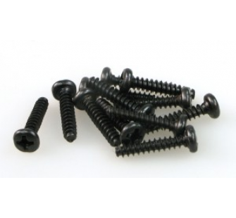 S085 ROUND HEAD SELF TAPPING SCREW 3x15 (12) - JP-9940385