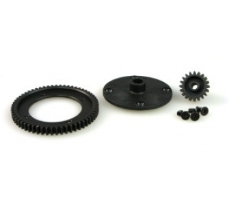 6558-T002 SPUR AND PINION GEAR SET (STEEL) - JP-9940505