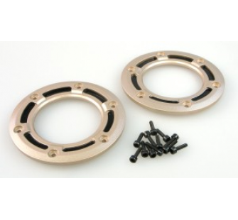 RCT-H008 WHEEL FRAME(ALLOY)+SCREW 2x (paire) - JP-9940715