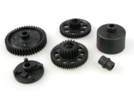 RCT-P005 SPUR GEAR(47T)+GEARS+CASE SET - JP-9940805