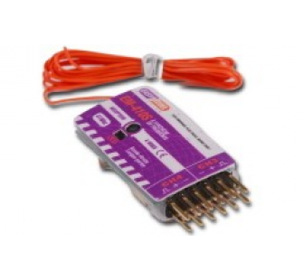 Recepteur indoor 4 voies a synthese de frequence 41mHz - EM-RP4S1-4CH