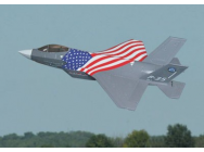 Avion F35 Mini drapeau US kit ARF - RIP-A-FR7002C