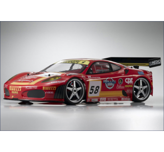 Voiture KYOSHO Inferno GT F430 1/8eme kit RTR - KYO-31815RS