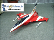 Rafale Bi-turbine ARF avec turbines brushless, ESC et Servos Air Shows - RCL-LP000103PWR