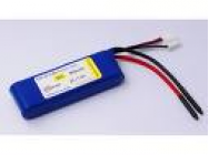 Pack accus LiPo HYPERION 2S 950mAh 25C - HYP-HP-2S-950-25