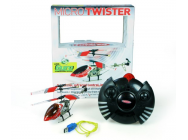 Micro Twister 3 Voies Metal USB avec Gyro Jperkins Rouge - JP-6600005-R