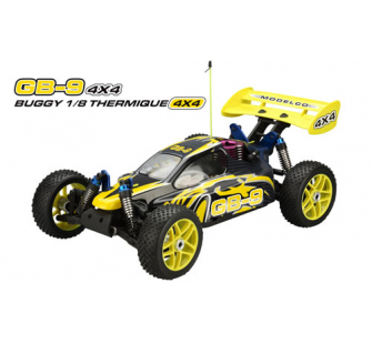 Buggy Thermique GB9 1/8 Modelco - JAM-36FS31208