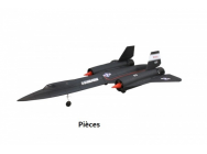 SR-71 Blackbird version RR (servos-train-motorisation) - OST-80672