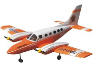 Cessna 421 Orange 1800mm ARF - TRI-DT002-1