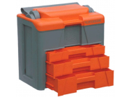 Lift and lock case Grey / Orange - PRO-M024