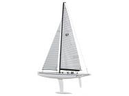 Voyager II voilier thunder tiger T5552 classe 1 metre - MRC-T5552