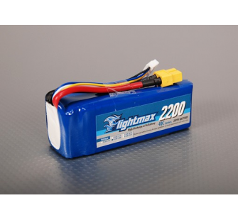ZIPPY Flightmax 2200mAh 4S1P 40C - charge 5C - CHI-Z22004S-40