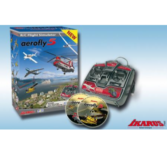 Aerofly 5 + Game commander USB simulateur - T2M-IK3071002