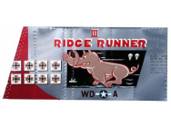Panneau replique Ridge Runner 3 P51D - VEL-RIDGERUNNERIII-P