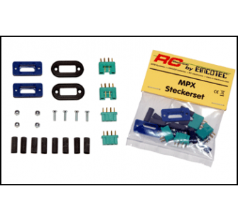 MPX Connector Set, Covering Screen - EMC-A85020