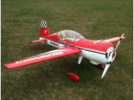 Yak 54 ExtremeFlight Rouge et Blanc 2800mm ARF - OST-76704