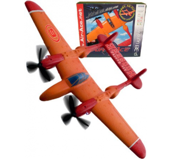 P38 pret a voler Airace Orange Platinum - ACM-AA1020
