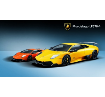 Lamborghini Murcielago LP670-4 1/14 orange RC - JAM-403901