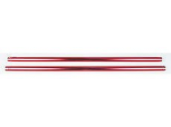 Tube de queue alu rouge  Twister Storm3D - JP-6602308