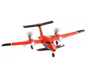 AirAce III Vulcano P180 Rouge red Avion Radiocommande EPP Airace - ACM-A3013-P180R