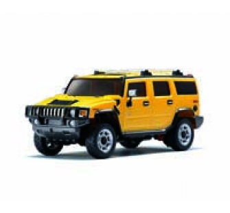 Hummer H2 Jaune RTR KYOSHO - KYO-30083A2Y