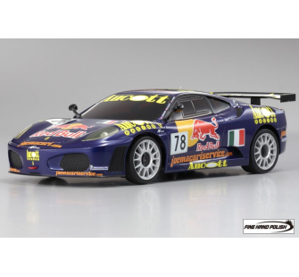 Mini Z Ferrari F430 GT LM 2007 No.78 Team AF Corse Mini-Z MR-03 - KYO-32807A7