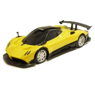 pagani zonda r 1 24 jaune rtr t2m mo63027j miniplanes. Black Bedroom Furniture Sets. Home Design Ideas