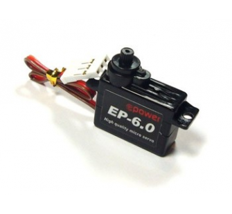 Micro servo EP 6 special F3P indoor tres rapide - DON-04DM-EP6