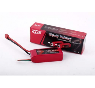 Accus LIPO 1800mAh 11.1v 18C KDS Model - KDS-2015-20